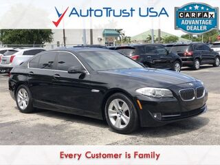 BMW 5 Series 528i LEATHER SUNROOF BLUETOOTH LOW MILES 2013