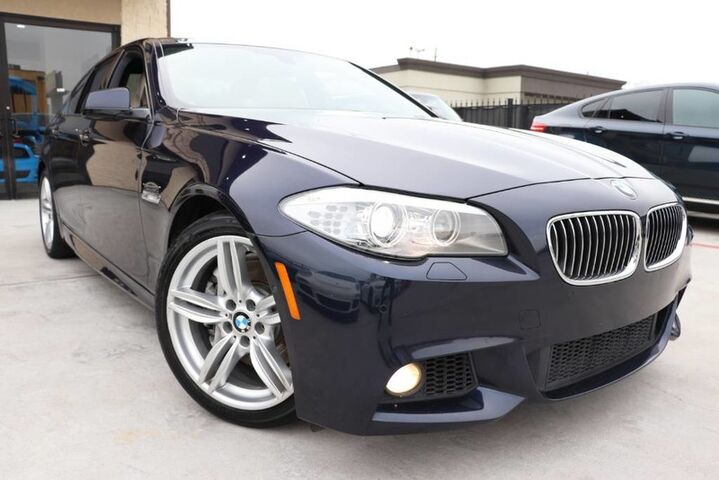 2013 BMW 5 Series 535i M-SPORT CLEAN CARFAX 1 OWNER Houston TX
