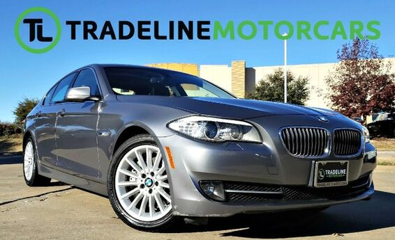2013 BMW 5 Series 535i NAVIGATION, SUNROOF, LEATHER, HEADS UP DISPLAY, AND MUCH MORE!!! CARROLLTON TX