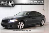 2013 BMW 5 Series 535i xDrive - Adjustable Suspension Modes Sun Roof Wood Grain Interior Heated Leather Seats Navigation Push Button Start Keyless Entry Around Car Camera System Parking Sensors Heads Up Display