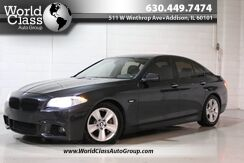 2013_BMW_5 Series_535i xDrive - Adjustable Suspension Modes Sun Roof Wood Grain Interior Heated Leather Seats Navigation Push Button Start Keyless Entry Around Car Camera System Parking Sensors Heads Up Display_ Chicago IL