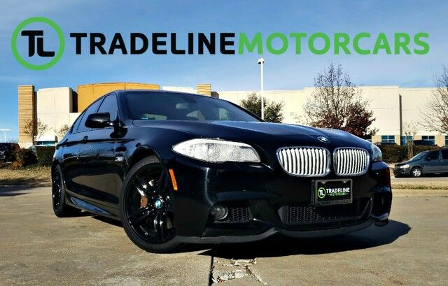 2013 BMW 5 Series 550i LEATHER, SUNROOF, NAVIGATION, AND MUCH MORE!!! CARROLLTON TX