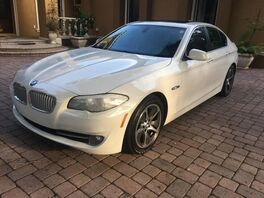 2013_BMW_5 Series_ActiveHybrid 5_ Hollywood FL