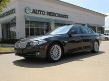 2013_BMW_5-Series_ActiveHybrid 5, Sport Package, Premium Package, Cold Weather Package, LEATHER SEATS, NAVIGATION SYST_ Plano TX