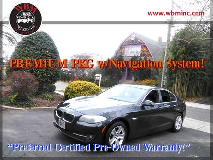 2013_BMW_528i xDrive_Sedan_ Arlington VA