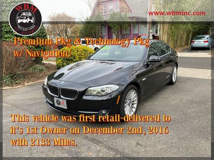 2013_BMW_535i xDrive_Sedan_ Arlington VA