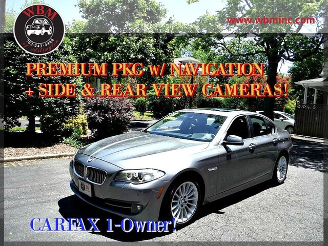 2013 BMW 535i xDrive w/ Premium Package Arlington VA
