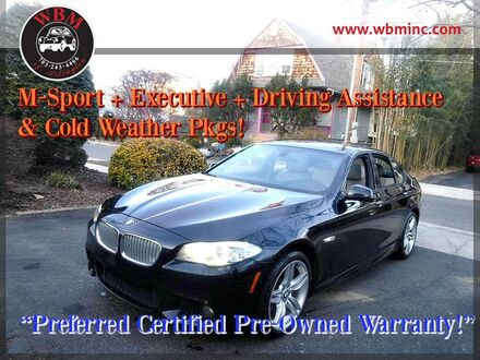 2013_BMW_550i xDrive_Sedan w/ M-Sport Package_ Arlington VA