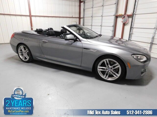 2013 BMW 6 Series 650i Austin TX