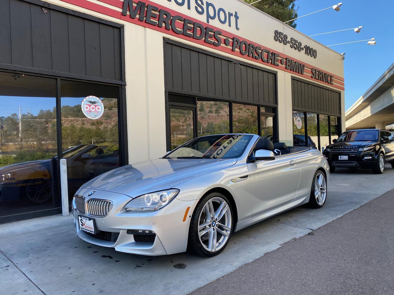 2013 BMW 6 Series 650i Convertible San Diego CA