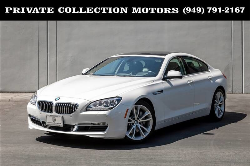 2013 BMW 640i 6 Series Costa Mesa CA