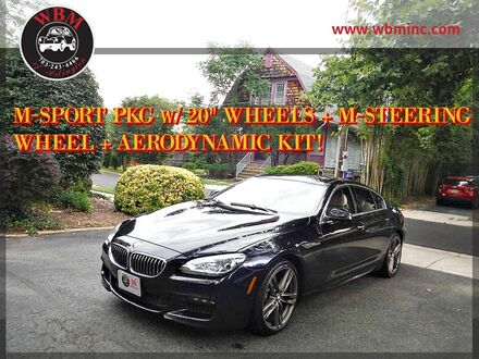 2013_BMW_640i Gran Coupe_w/ M-Sport Package_ Arlington VA