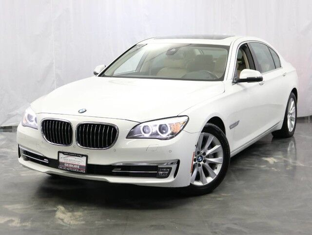2013 BMW 7 Series 740Li / 3.0L Twin Turbo 6-Cyl Engine / RWD / Sunroof / Navigation / Bluetooth / Push start / Active Blind spot Detection / Lane Departure Warning / Front Collision Warning / Parking Aid with Rear View Camera Addison IL