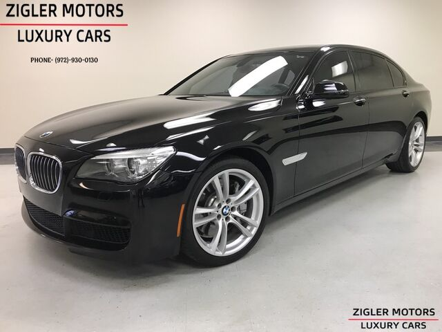2013 BMW 750Li low miles *M Sport Line * Executive Pkg HeadsUp Active Cruise low miles beautiful Addison TX