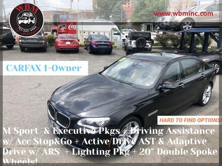 2013_BMW_750Li xDrive_w/ M-Sport Package_ Arlington VA
