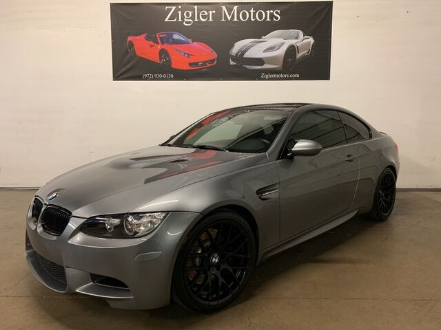 2013 BMW M3 Coupe Competition Pkg 6-Speed Manual/Remus Exhaust Carbon Fiber Roof Rear Spoiler Addison TX