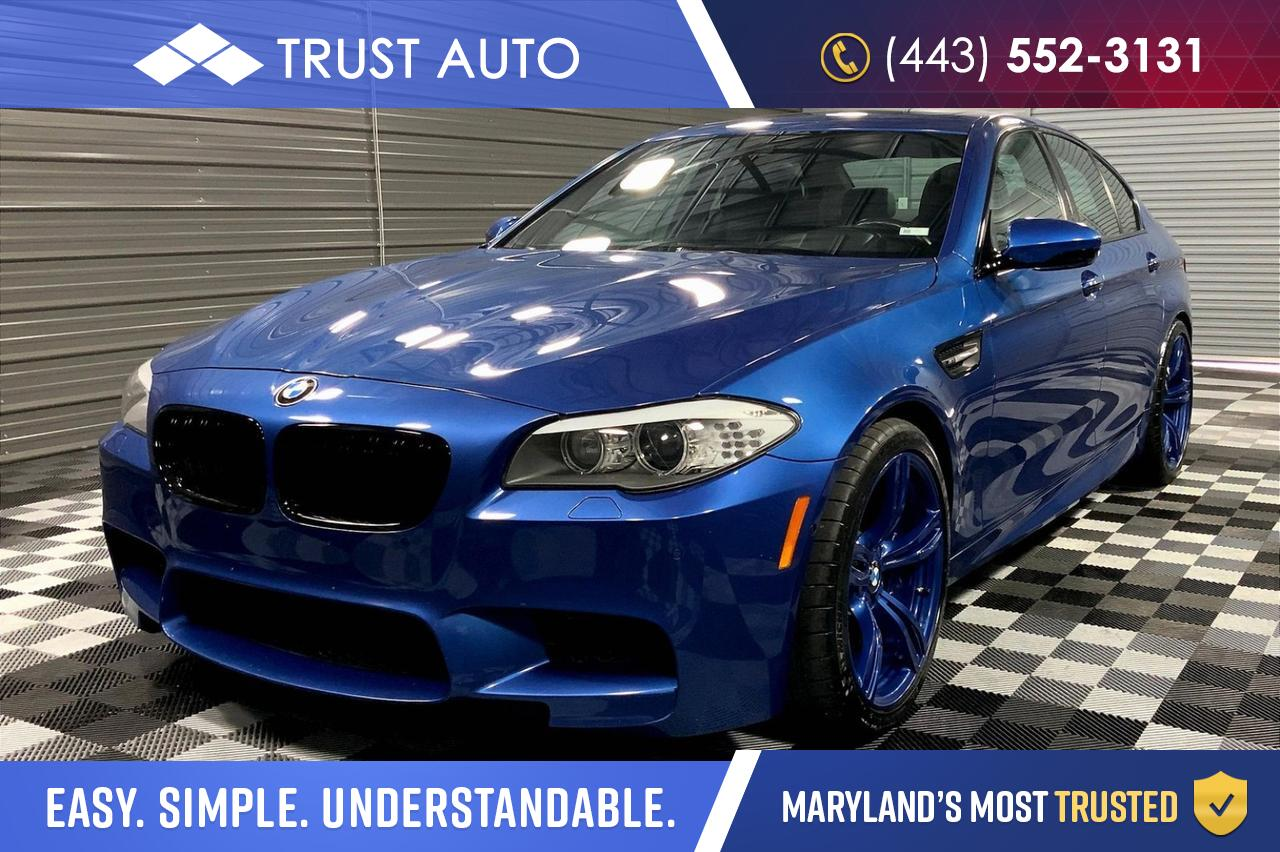 2013 BMW M5 Driver Assistance/Executive/Bang & Olufsen Sykesville MD