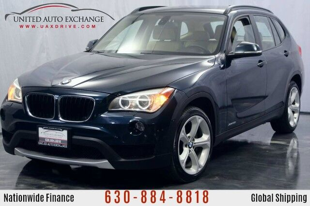 2013 BMW X1 3.0L Twin Turbocharged Engine AWD xDrive35i w/ Panoramic Sunroof, Bluetooth Connectivity, USB & AUX Input, Heated Leather Seats, Hi-Fi Sound System Addison IL