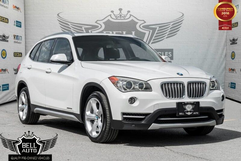 2013 BMW X1 xDrive35i PANORAMIC SUNROOF LEATHER INTERIOR BLUETOOTH ALL WHEEL DRIVE