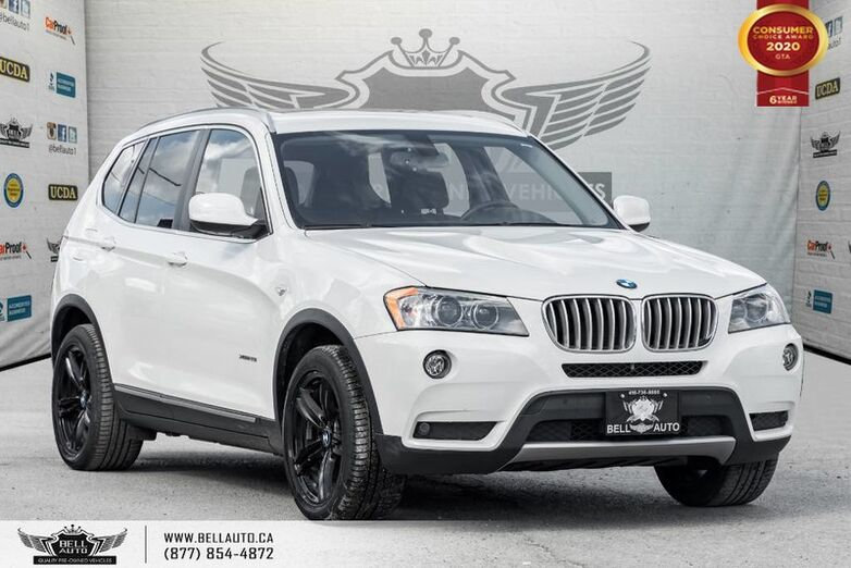 2013 BMW X3 28i, AWD, NO ACCIDENT, NAVI, REAR CAM, PANO ROOF Toronto ON