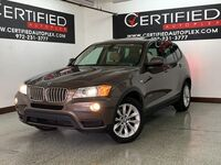 BMW X3 XDRIVE28i NAVIGATION PANORAMIC ROOF REAR CAMERA PARK ASSIST HEATED LEATHER 2013