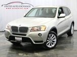 2013 BMW X3 xDrive28i / 2.0L 4-Cyl Engine / AWD xDrive / Sunroof / USB & AUX