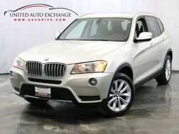 2013_BMW_X3_xDrive28i / 2.0L 4-Cyl Engine / AWD xDrive / Sunroof / USB & AUX_ Addison IL