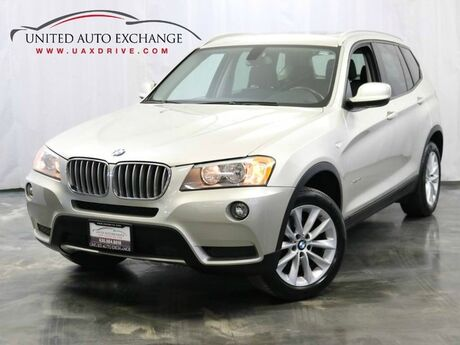 2013 BMW X3 xDrive28i / 2.0L 4-Cyl Engine / AWD xDrive / Sunroof / USB & AUX Addison IL