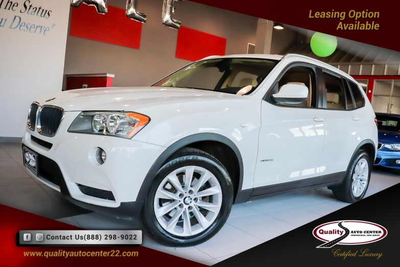2013 BMW X3 xDrive28i Cold weather Package Panoramic Roof Roof Rails Springfield NJ