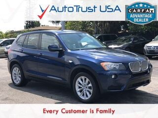 BMW X3 xDrive28i LOW MILES PANO ROOF LEATHER BLUETOOTH 2013