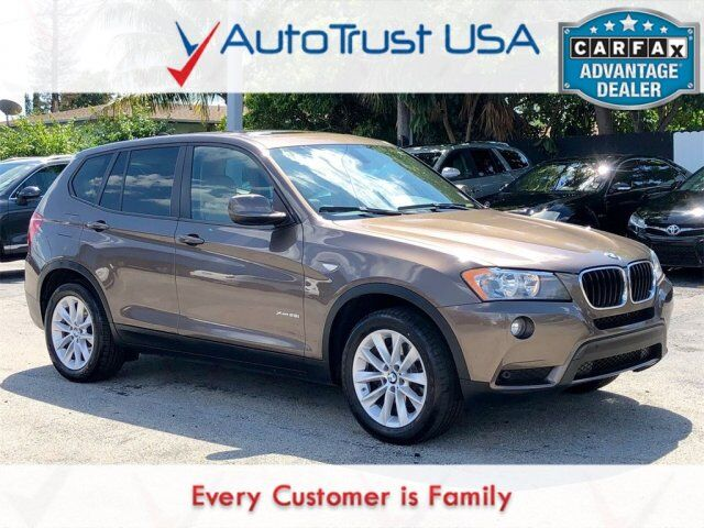 2013 BMW X3 xDrive28i Miami FL