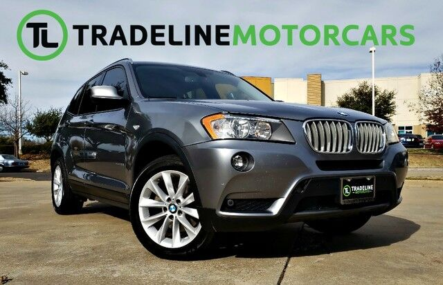 2013 BMW X3 xDrive28i PANO SUNROOF, NAVIGATION, REAR VIEW CAMERA, AND MUCH MORE!!! CARROLLTON TX