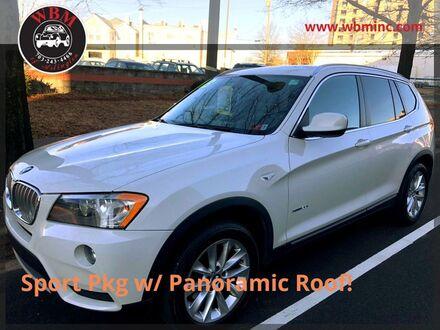 2013_BMW_X3_xDrive28i w/ M-Sport Package_ Arlington VA