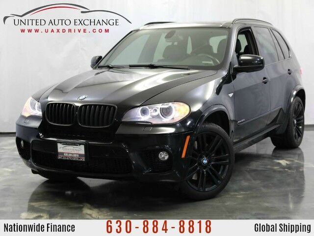 2013 BMW X5 4.4L V8 Engine AWD xDrive50i M-SPORT PACKAGE Addison IL