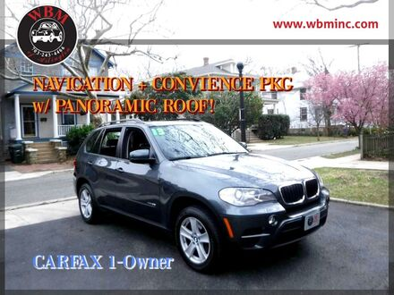 2013_BMW_X5_w/ Technology Package_ Arlington VA
