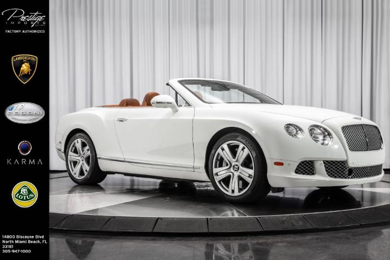 2013_Bentley_Continental GT__ North Miami Beach FL