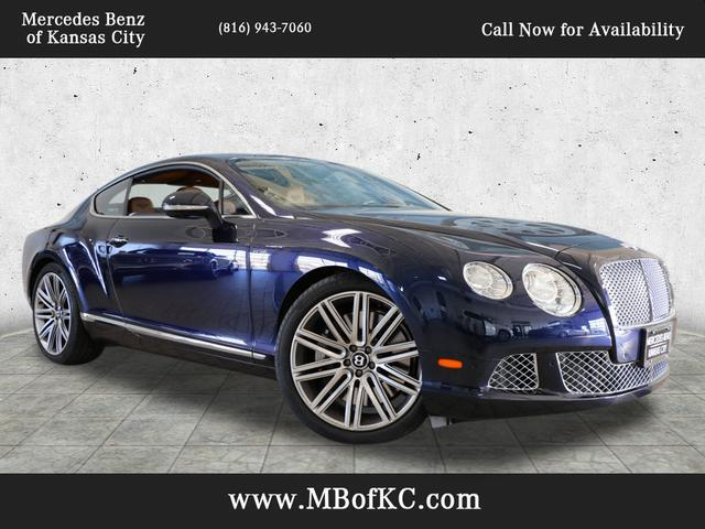 2013 Bentley Continental GT Speed Kansas City MO