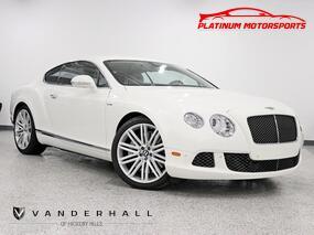 Bentley Continental GT Speed W12 RENNtech Stainless Steel Mufflers OE Tune 3 Keys Books Fully Loaded 2013