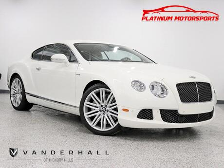 2013 Bentley Continental GT Speed W12 RENNtech Stainless Steel Mufflers OE Tune 3 Keys Books Fully Loaded Hickory Hills IL