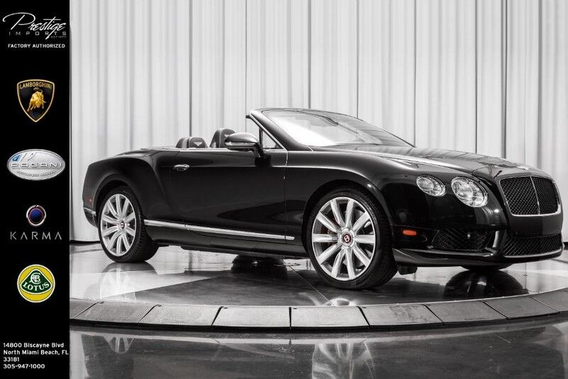 2013_Bentley_Continental GT V8__ North Miami Beach FL