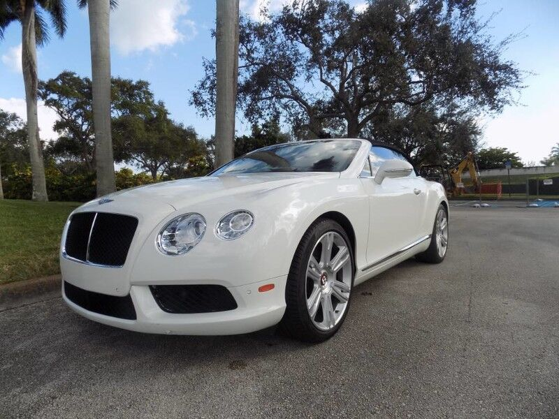 2013 Bentley Continental Gt V8 Gt V8 Convertible Hollywood Fl 27188821