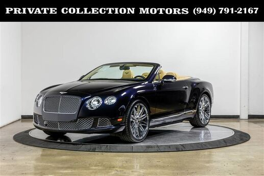 2013 Bentley Continental GTC Convertible 2 Owner Clean Carfax Costa Mesa CA