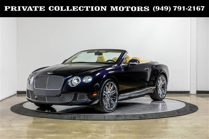 2013_Bentley_Continental GTC_Convertible 2 Owner Clean Carfax_ Costa Mesa CA