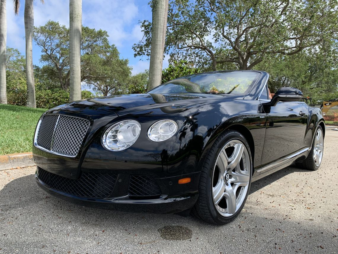 2013 Bentley Continental GTC Convertible 2D Hollywood FL