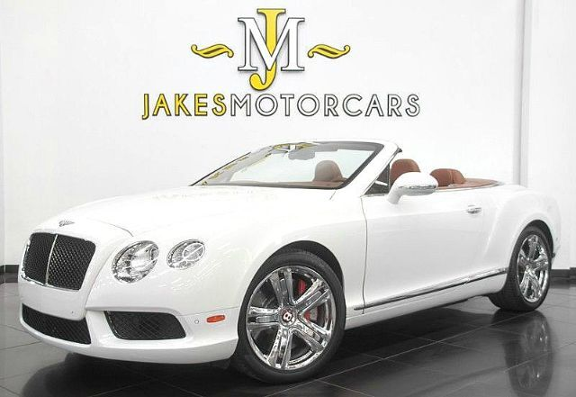 2013 Bentley Continental GTC V8 Convertible ($204,385 MSRP) San Diego CA