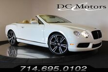 Bentley Continental GTC V8 GTC 2013