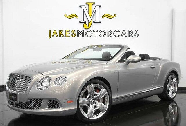 2013 Bentley Continental GTC W12 MULLINER ($247,705 MSRP) *ONLY 7900 MILES* San Diego CA