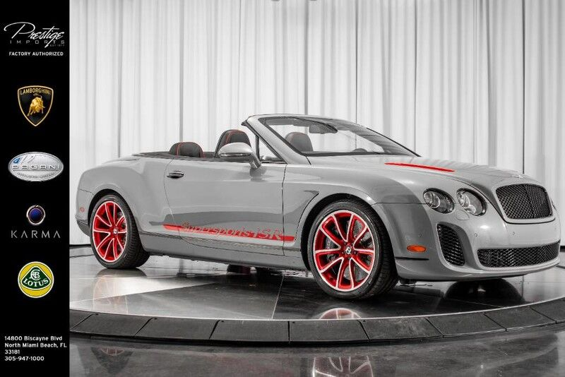 2013_Bentley_Continental Supersports_ISR_ North Miami Beach FL