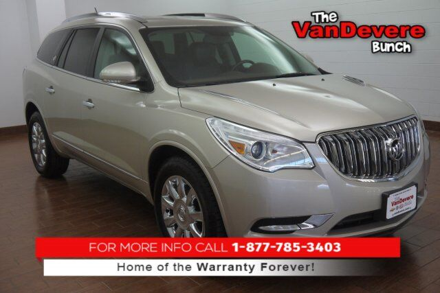 2017 Buick Enclave Leather Group Sterling IL   Moline Davenport IA ...
