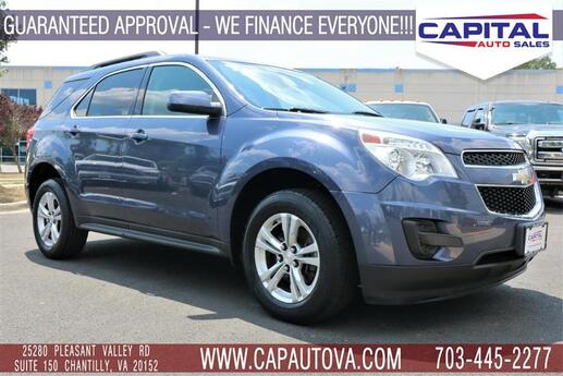 2013 CHEVROLET EQUINOX LT Chantilly VA